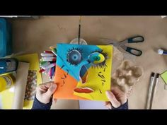Today we are making faces using cardboard rolls, egg cartons, paper and a good shot of imagination. Cardboard Rolls, Egg Cartons, Making Faces, Craft Corner, Kids House, Art Therapy, Paper, Creative, Toilet