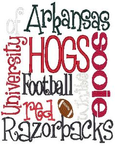 ARKANSAS RAZORBACKS!!!