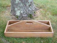 tool box or utensil box or garden box; so many uses