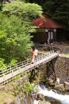 <散策コース>武田信玄の隠し湯と言われる歴史ある景色を満喫したい