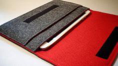 Funda Google Nexus 7 Hecha de Fieltro 100 Lana por MadebyMustDash
