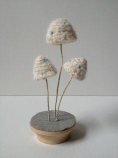 Crochet Mushrooms by LakeNYC on Etsy, $120.00