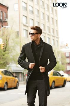 Transition from class to classy this fall in a slim fitting men's jacket Canada Shopping, Fall Looks, Top Coat, Online Furniture, Boy Fashion, Wool Blend, Mattress, Classy, Slim