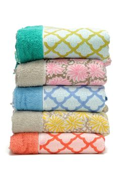 Preppy Printed Beach Towels #beachchic #accessories