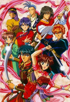 [Fushigi Yuugi] Love this manga and anime! Old Anime, Anime Manga, Anime Art, Animes To Watch, Anime Watch, Anime Eng Sub, Pikachu, Yugi, Image Manga