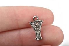 wholesale 100 pcs metal heart charm with relief rose nickel free 15 mm long