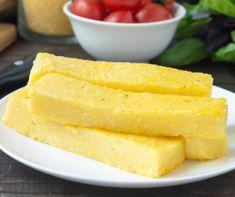 Polenta egyszerűen Recept képpel - Mindmegette.hu - Receptek Polenta, Cornbread, Pineapple, Food And Drink, Vegetarian, Lunch, Fruit, Ethnic Recipes, Millet Bread