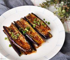 K Food, Korean Food, Eggplant, Zucchini, Food And Drink, Salad, Baking, Vegetables, Breakfast
