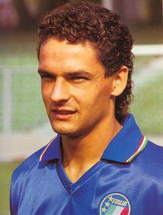 Lanerossi Vicenza's player Roberto Baggio / ballon d'or 1993