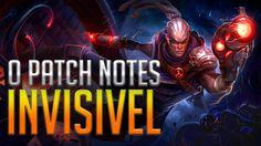 PATCH INVÍSIVEL DA ATUALIZAÇÃO 7.5 - ANÁLISE DO PATCH NOTES 7.5
