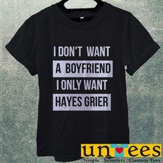 Low Price Men's Adult T-Shirt - Hayes Grier Magcon design