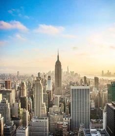 One World Trade Center, Trade Centre, Empire State Building, First World, New York Skyline, Travel, Viajes, Destinations, Traveling