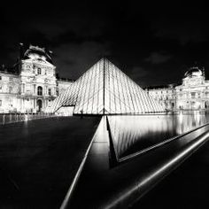 The Louvre, Study 4, Paris, France, Photography by Marcin Stawiarz.