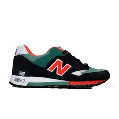 "New Balance ""Seaside Pack"" M577NBS (Navy/Teal/Orange) Men's Shoes Made in UK #NewBalance #AthleticSneakers"