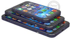 iphone6 Un adelanto, el iPhone 6 vendrá en dos tamaños