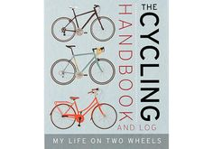 The Cycling Handbook and Log http://www.bicycling.com/bikes-and-gear-features/lifestyle/holiday-gift-guide-books-for-cyclists/cycling-handbook-and-log
