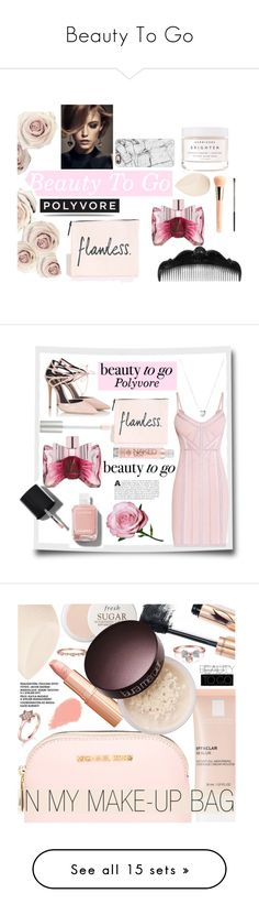 """Beauty To Go"" by kyt7078 ❤ liked on Polyvore featuring beauty, Casetify, Givenchy, Viktor & Rolf, Herbivore, Guerlain, Urban Decay, Christian Dior, Anna Sui and Hervé Léger"