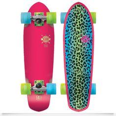 #Globe #Skateboard léopard So fun and So girly https://www.theshopally.com/sophie-etchart/20160122/globe-skateboard-leopard-so-fun-and-so-girly
