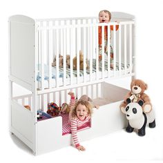 3-in-1 Bunkcot (White) | The Bunkcot