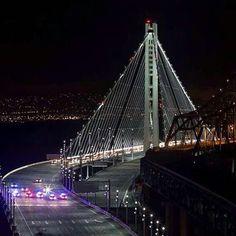 New Bay Bridge .San Francisco