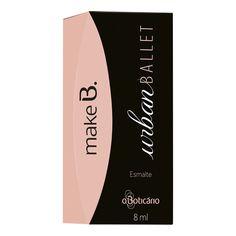 Make B. Urban Ballet Esmalte Dark Pink Way - O Boticario