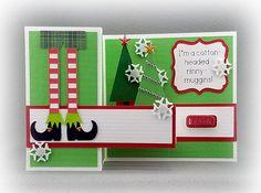 Handmade Elf  Holiday Card 1