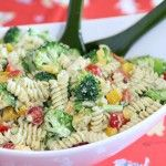 Friday Night Cooking Class/Pasta Salad with a Three Cheese Ranch Dressing - Noshing With The Nolands