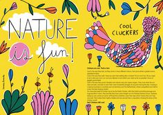 NEW issue is here! Theme is MUSEUMS & it is available to buy from here. http://www.anorakmagazine.com/shop/ Nature is Fun by Inma Lorente. StudioAnorak.
