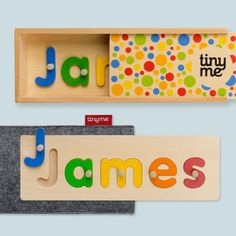 Personalised Wooden Name Puzzle