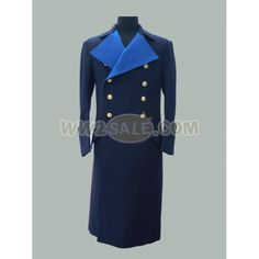 Kriegsmarine (Navy) General Wool Greatcoat
