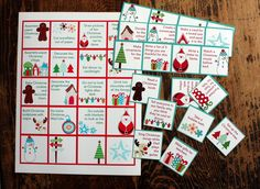 Mixing some of these in with Christmas Bible verses for our advent calendar! I know Rory's a little young still but Mommy and Daddy can do it too!