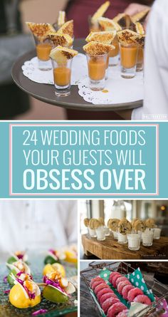 24 Foods Your Wedding Guests Will LOVE.  I would totally fine with a mashed potato bar. @katherinetrip