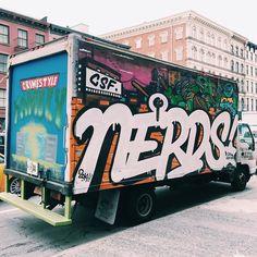 Nerds-Untapped Cities-Art-Graffiti Trucks-Trucks-TMNT-Art-NYC