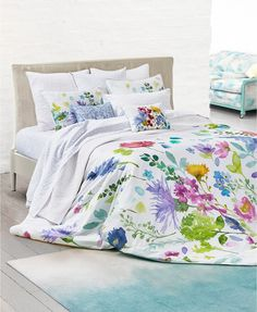 bluebellgray Tetbury Meadow King Duvet Set | macys.com