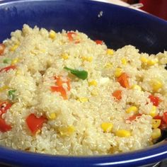 """Quinoa with Veggies 