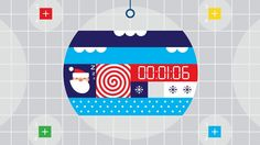 Google Santa Tracker - The Countdown. Full project at: https://www.behance.net/gallery/Google-Santa-Tracker-Animations/13381409  Credits: Ma...