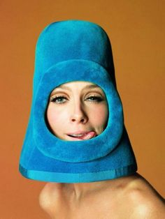 Later, Julie decided her efforts to hide her Spock ears had gone a little overboard.
