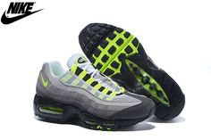Mens Nike Air Max 95 Running Shoes Black Anthracite Cool Grey 554970-071 dc79aa561