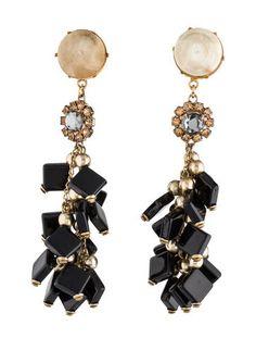 Marni Cluster Drop Earrings #SummerMustHave