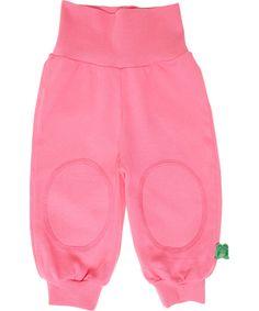 Fred's World organic cotton soft pink baby pants #emilea