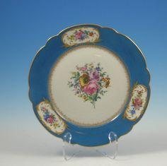 Antique Sevres Cabinet Plate   eBay