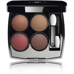 CHANEL Multi-Effect Quadra Eyeshadow - Colour Candeur Et ExpÉrienc (€47) ❤ liked on Polyvore featuring beauty products, makeup, eye makeup, eyeshadow, chanel eyeshadow, chanel eye shadow, creamy eyeshadow, chanel and palette eyeshadow