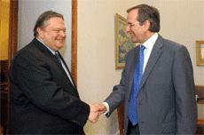 Regierungsumbildung: Erstmals Große Koalition in Griechenland