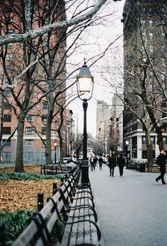 Washington Square Park, my first home in the city <3