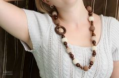 Nursing necklace  Teething necklace  necklace for mom by MagazinIL, $44.00 #nursingnecklace #breastfeeding #nursing #teething