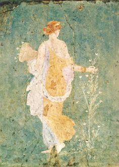 Fresque, musée archéologique de Naples