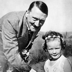 StevenWarRan: Adolf Hitler With His Favorite Little Girl,