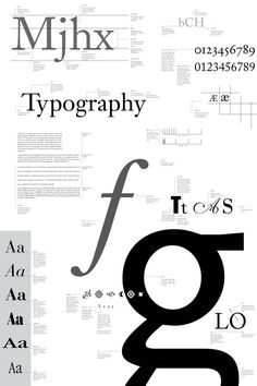 Typographic Elements Graphic Design Poster by matttm15 on Etsy, $45.00