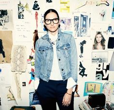 Glasses Inspo: Jenna Lyons | Time Magazine