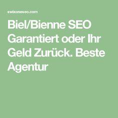 Biel/Bienne SEO Garantiert oder Ihr Geld Zurück. Beste Agentur